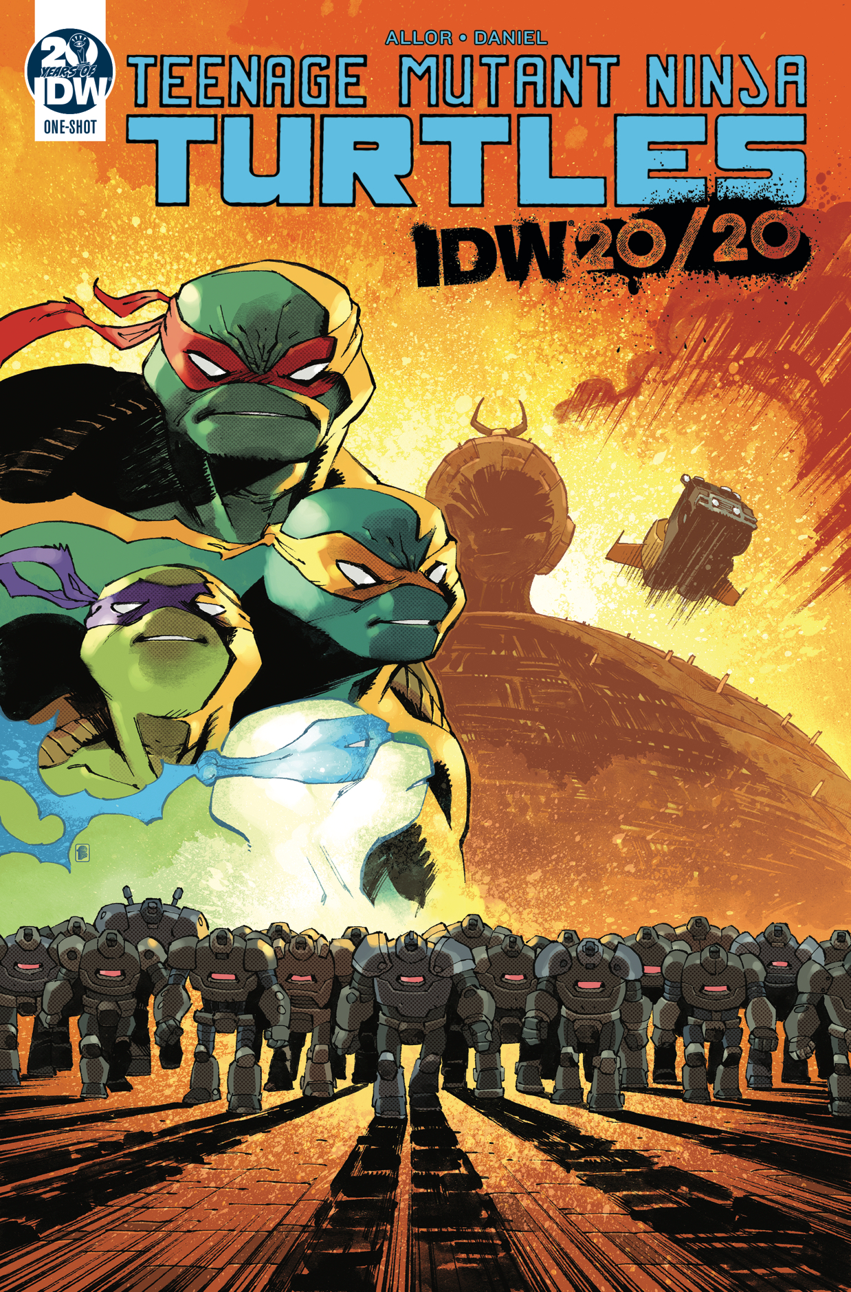 Episode 124 – IDW TMNT 20/20