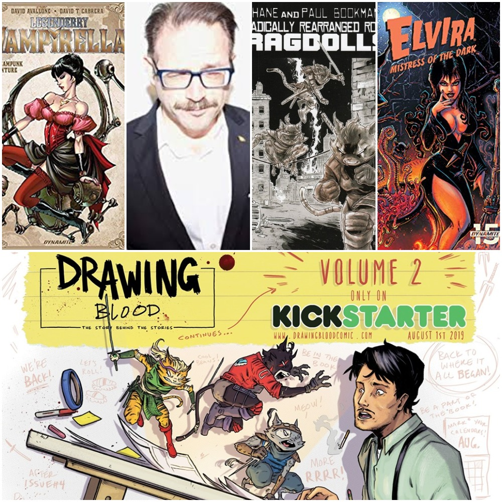 Episode 138 – Drawing Blood, Vol. 2 w/ David Avallone