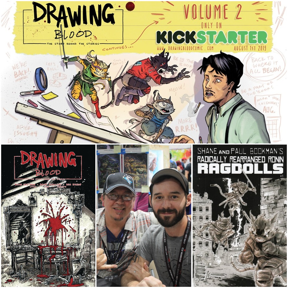 Episode 139 – Drawing Blood, Vol. 2 w/ Kevin Eastman and Ben Bishop
