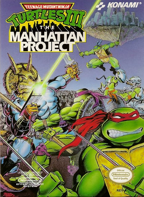 Ep. 141 – TMNT 3: The Manhattan Project (2 Dudes and a NES Team-Up)