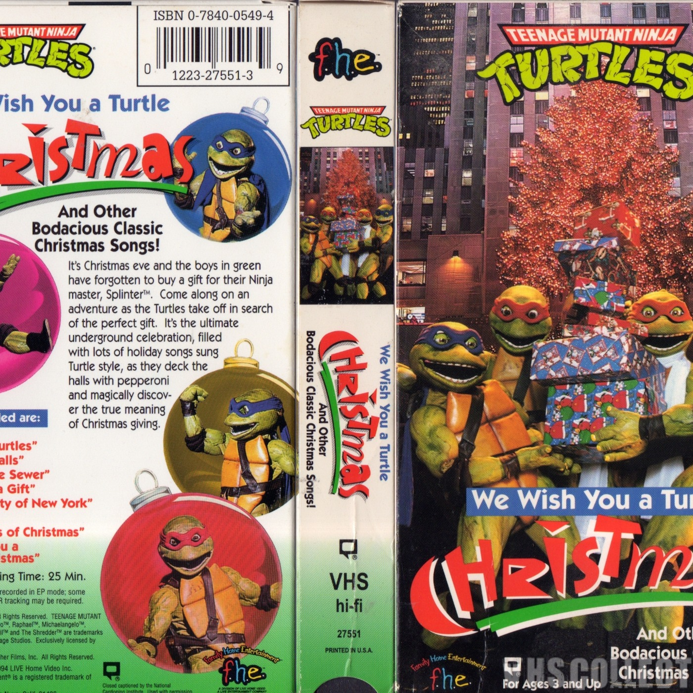 Episode 105 – We Wish You a Turtle Christmas III – Turtle Flakes